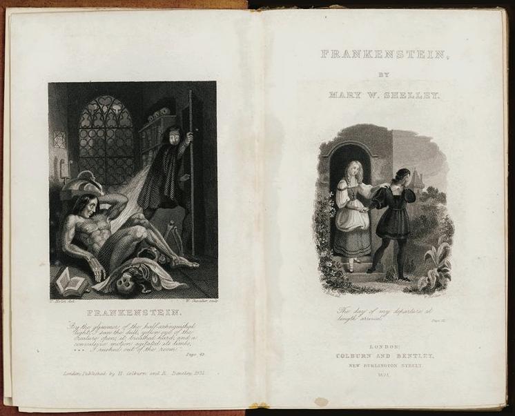 Mary Shelley 1831
